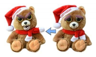 Feisty Pet Santa Bear